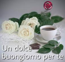 dolce #buongiorno #flowers #coffe #rose #white #link #Tiz…