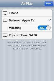 airplay mirroring