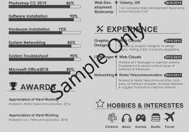 design your cv more attractive and