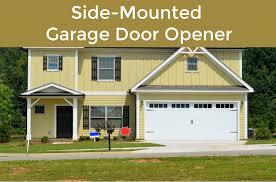 what is a side mount garage door opener
