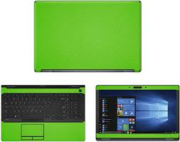 Amazon Com Decalrus Protective Decal For Dell Latitude 5580 15 6 Screen Laptop Green Carbon Fiber Skin Case Cover Wrap Cfdelllatitude5580green Computers Accessories