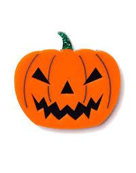 Halloween - Pumpkin Brooch Orange – Martinis and Slippers