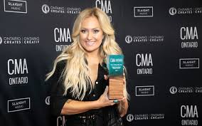 Meghan Patrick Triumphant At CMAOntario Awards | FYIMusicNews