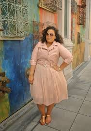 5 pink pastel dresses for plus size