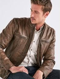 lucky brand vintage leather jacket