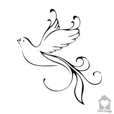Flying Dove Beautiful Home Wall Art Decal White Love Dove Vinyl Decor Wall Art Sticker 1154 Decal Wall Art Dove Tattoo Design Dove Drawing