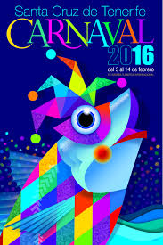 Cartel Del Carnaval De Santa Cruz De Tenerife 2016 Titulo Un