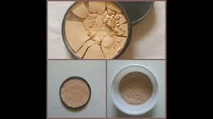 diy how to fix broken pact powder