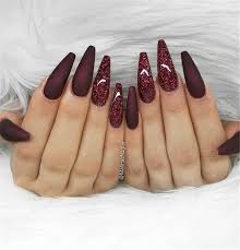 50 gorgeous burgundy nail color with