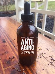 diy anti aging moisturizing serum my
