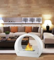 ventless free standing ethanol fireplaces