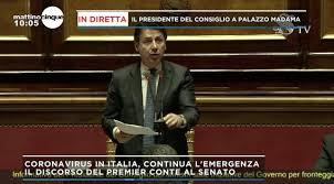 Coronavirus, Giuseppe Conte al Senato: