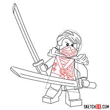 How to draw Lloyd Garmadon from NinjaGO - Step by step drawing ...