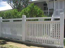 Picket Fences Brisbane Fence Design Fence Landscaping Front Yard Fence