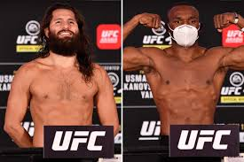 UFC 251: UK start time TONIGHT, what TV ...
