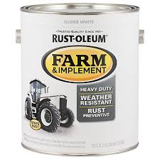 Rust Oleum Specialty Farm Implement Gloss White 1 Gal 280166 At Tractor Supply Co