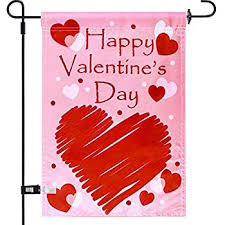 joyousa valentines day garden flag