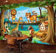 Custom Mural Childrens Room Bedroom Beautiful Cartoon Forest Background Picture Wall Decor Kid Wallpaper Volume Wall Painting A Wallpapers Hd Actress Wallpaper From Zeze55 16 92 Dhgate Com