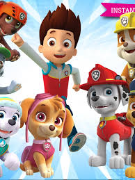 paw patrol clipart printable pictures