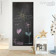 Chalk Board Wall Decal Chalkboard Wall Decal For Kids Etsy