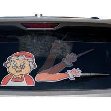 Rear Vehicle Car Window Moving Animated Wiper Blade Tag Decal Windshield Decal Walmart Com Walmart Com