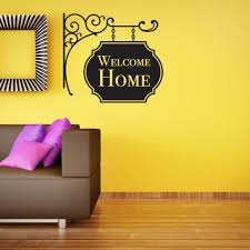 Welcome Home Wall Decal Style And Apply