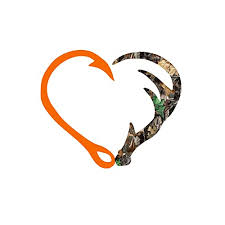 Amazon Com Camo Heart Hunting Decal Sticker Vinyl Decal For Yeti Tumbler Rtic Cup Laptop Car Window Accessories For Men Or Women 3 5 Inches Handmade