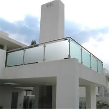 exterior tempered glass balcony terrace