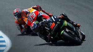 2 MotoGP riders Marc Marquez and Bradley Smith at the Laguna Seca ...