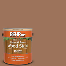 Behr 1 Gal Sc 152 Red Cedar Solid Color House And Fence Exterior Wood Stain 03001 The Home Depot