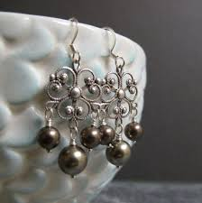 Pin by Ivy Walters on Accessory love | Dangle earrings, Accessories, Pearl  earrings