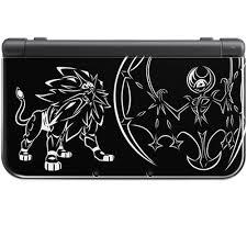 New Nintendo 3DS XL Pokemon Sun and Moon Solgaleo and Lunala | Nintendo 3DS