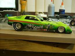 Mpc Resin Omni Funny Car Car Body W Tom Aker S The Wizard Decals 443477045