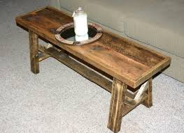 50 narrow coffee table rustic woodwork