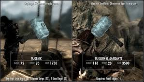weapon smithing skyrim skyrim mods