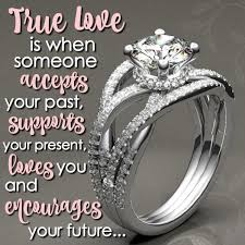 true love is when engagement ring for her most beautiful