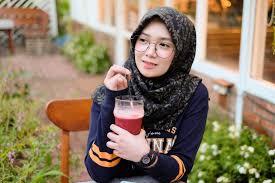 make up ala korea untuk wanita berhijab