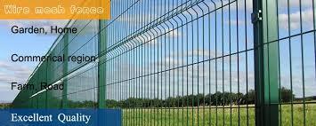 backyard welded wire mesh fence
