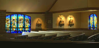 Welcome to Liturgical Environments Co. Gallery,Contempory Leaded Stained  Glass 24D