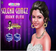 selena gomez makeup games free