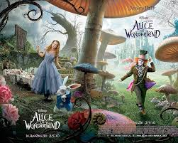 alice in the wonderland wallpaper