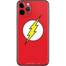 The Flash Emblem Iphone 11 Pro Skin Dc Comics