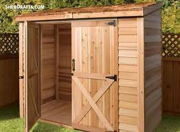 10 lean to firewood storage shed plans