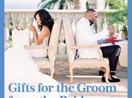 gifts for the groom from the bride