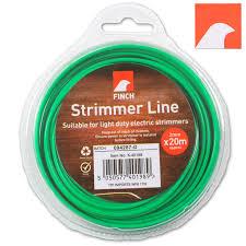 green garden strimmer line 2mmx20m finch