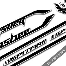 Banshee Spitfire 2014 Style Decal Kit Slik Graphics