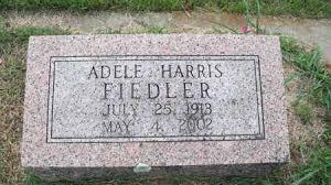 HARRIS FIELDER, ADELE - Conway County, Arkansas | ADELE HARRIS ...