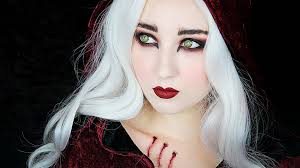 eye makeup for little red riding hood