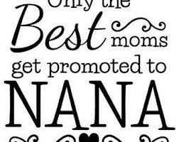 Nana Decal Etsy