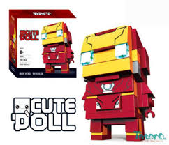 Bộ đồ chơi xếp hình Lego IronMan - 14cm